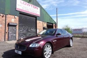 2008 08 MASERATI QUATTROPORTE 4.2 V8 EXECUTIVE GT 4DR AUTO 396 BHP Photo