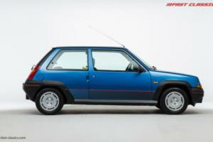 Renault 5 GT Turbo // Electric Blue // 1986