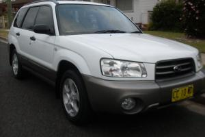 Subaru Forester XS 2003 4D Wagon Automatic 2 5L Multi Point F INJ 5 Seats in Wallsend, NSW