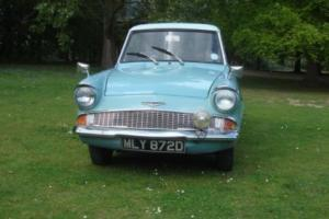 FORD ANGLIA SUPER, FORD ANGLIA, CLASSIC FORD,