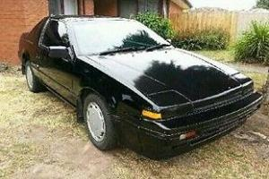 Nissan EXA Black Rare 1 6 Litre Fuel Injected Targa TOP in Landsborough, VIC