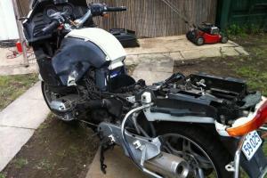 BMW 1150RT Motorbike Photo
