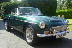 1968 MG MGF MGC IN BRITISH RACING GREEN JUNE 2015 TAX & MOT