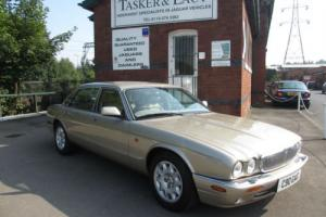 Immaculate Jaguar XJ 4.0 Auto Sovereign Lwb Topaz With Piped Oatmeal Leather 36K Photo
