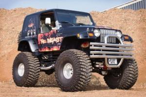1997 Jeep Wrangler TJ Custom Monster Truck
