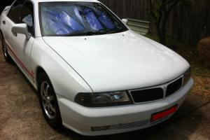 Mitsubishi Magna Sports 1998 4D Sedan Automatic Tiptronic 3 0L in Kingswood, NSW Photo