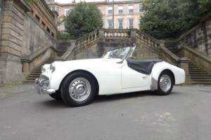 1961 Triumph TR3A Roadster White