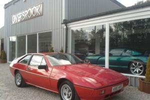 1984 Lotus Eclat excel 2.2 Red Cream Interior 67k last owner 23years !
