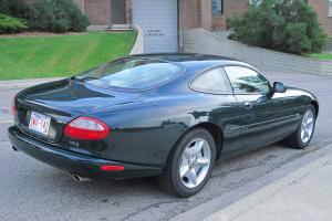 XK8 in British Racing Green; second owner, complete and original.