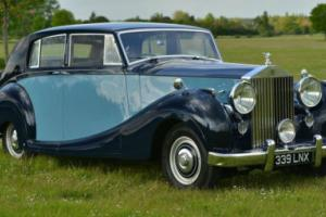 1950 Rolls Royce Silver Wraith by James Young.