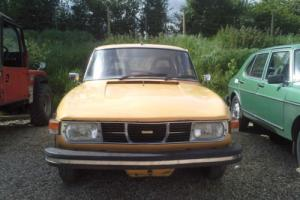 1976 Saab 99 GL 1 FORMER KEEPER FROM NEW** 84,000 MILES** 12 SERVICE STAMPS **