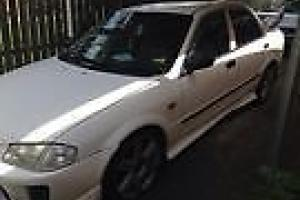Mazda 323 Protege 1999 Manual With EVO Bodykit in Inala, QLD