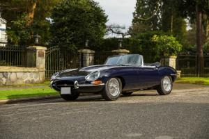 Jaguar : E-Type Roadster Photo