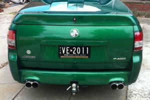 VE Thunder SS Walkinshaw UTE Custom Plates VE2011 GMH UTE 350KW Poison IVY GRN in VIC