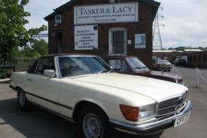 1979 Mercedes-Benz 350 SL Auto Cream/Brown Immaculate