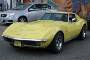 Chevrolet : Corvette Stingray 454