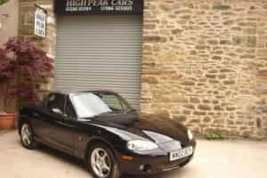 2002 02 MAZDA MX5 1.8 SE PHOENIX EDITION 50140 MILES ONE LADY OWNER SUPERB.