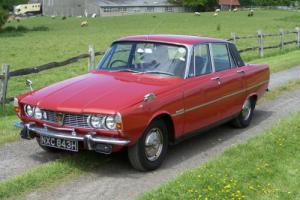 1970(H) Rover P6 2000 SC Manual Series One,74000 miles,tax exempt,MOT April 2016
