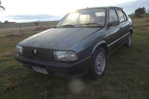 Alfa Romeo 33 1987 Sports Boxer Classic Racing Restore Just Found ON Farm Rare