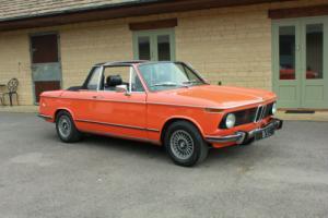 1974 BMW 2002 BAUER CAB