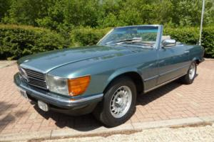 1983/A Mercedes-Benz 380 SL Automatic 2 Door Convertible