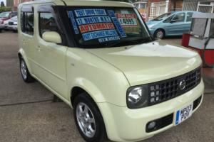 Nissan cube auto, 1400cc 5 door.. IMMACULATE LOW MILEAGE EXAMPLE Photo