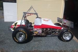 Vintage Sprintcar Speedway Chev Race Engine in QLD