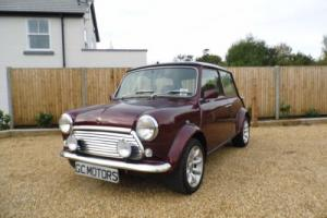 1999 Classic Rover Mini 40 LE in Burgundy Red and just 27,000 miles Photo