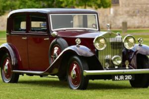 1933 Rolls Royce 20/25 Hooper Sports Saloon. Photo