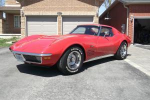 Chevrolet : Corvette LT1 4 SPEED