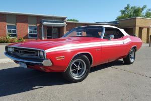 Dodge : Challenger convertible
