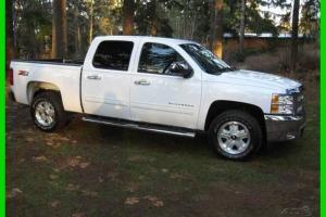 Chevrolet : Silverado 1500 LT Z71 4x4 W/ Original Warranty NO RESERVE