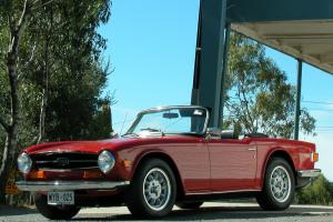 Triumph TR 6 1969 2D Sports 4 SP Manual 2 5L Fuel Injected in SA