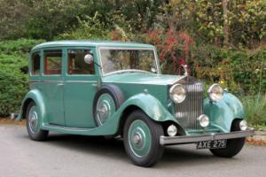 1934 Rolls-Royce 20/25 Windovers Limousine GHA16