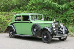 1935 Rolls-Royce 20/25 Barker Saloon GPG49 Photo