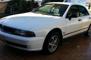Mitsubishi Magna Advance 1996 4D Sedan Manual 3L Multi Point F INJ Seats in NSW