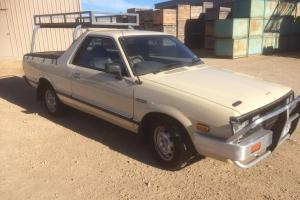 Subaru Brumby 4x4 1992 UTE Manual 1 8L Carb Seats in SA
