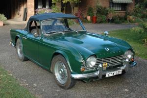 Triumph TR4 in NSW