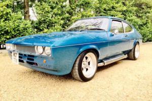 1979 mk 2 Ford Capri 5.7 6.2 v8 Chevy Edelbrock Blue One Off Blue American