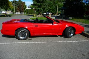 Pontiac : Trans Am Convertible