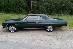 Chevrolet : Caprice Convertible