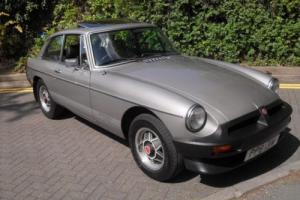 1981 MGB GT LE LIMITED EDITION 479 OF 480 17K MILES 1 OWNER THE BEST AVAILABLE