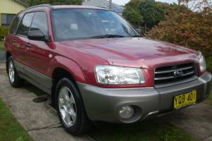 Subaru Forester XS 2003 4D Wagon Automatic 2 5L Multi Point F INJ 5 Seats in NSW Photo