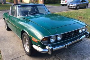 Triumph Stag 1974 Convertible Automatic 3L Twin Carb Seats