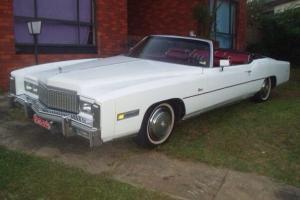 1975 Cadillac Eldorado Convertable Photo