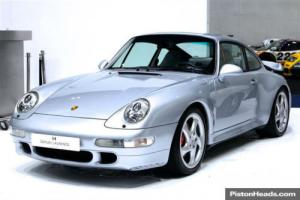 1996 Porsche 911 993 Turbo coupe Polar Silver