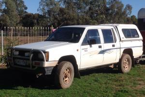 UTE 4WD Diesel Mitsubishi Triton GLX 4x4 1996 Dual CAB Manual in SA