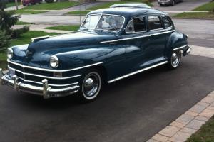 Chrysler : New Yorker All original - recently re-chromed