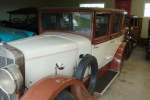 1928 FRANKLIN OXFORD 4-DOOR SEDAN - LESS THAN 100 MILES AFTER MAJOR RESTORATION