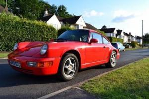 1989 PORSCHE 911 3.6 CARRERA 4 2D 250 BHP 964